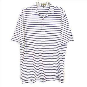 Peter Millar Summer Comfort Golf Polo Shirt Large